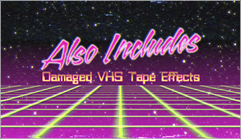 Retro 80s space grid title Animation made in After Effects