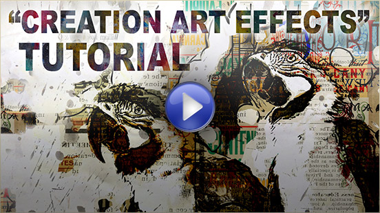 Creation Art Effects Video Tutorial