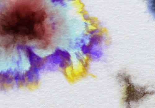 example of ink bleed effect for After Effects