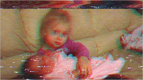 Retro VHS Look for video footage in After Effects