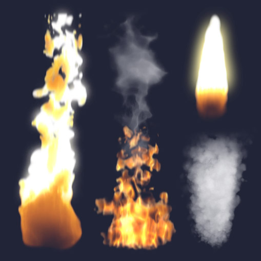 Realistic Fire Effects made in After Effects